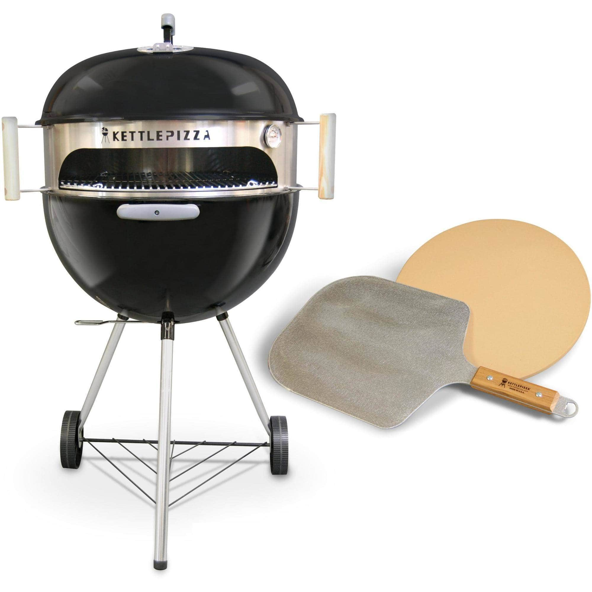 KettlePizza Deluxe (with Stone and Aluminum Peel) - Walmart B&M, YMMV $39