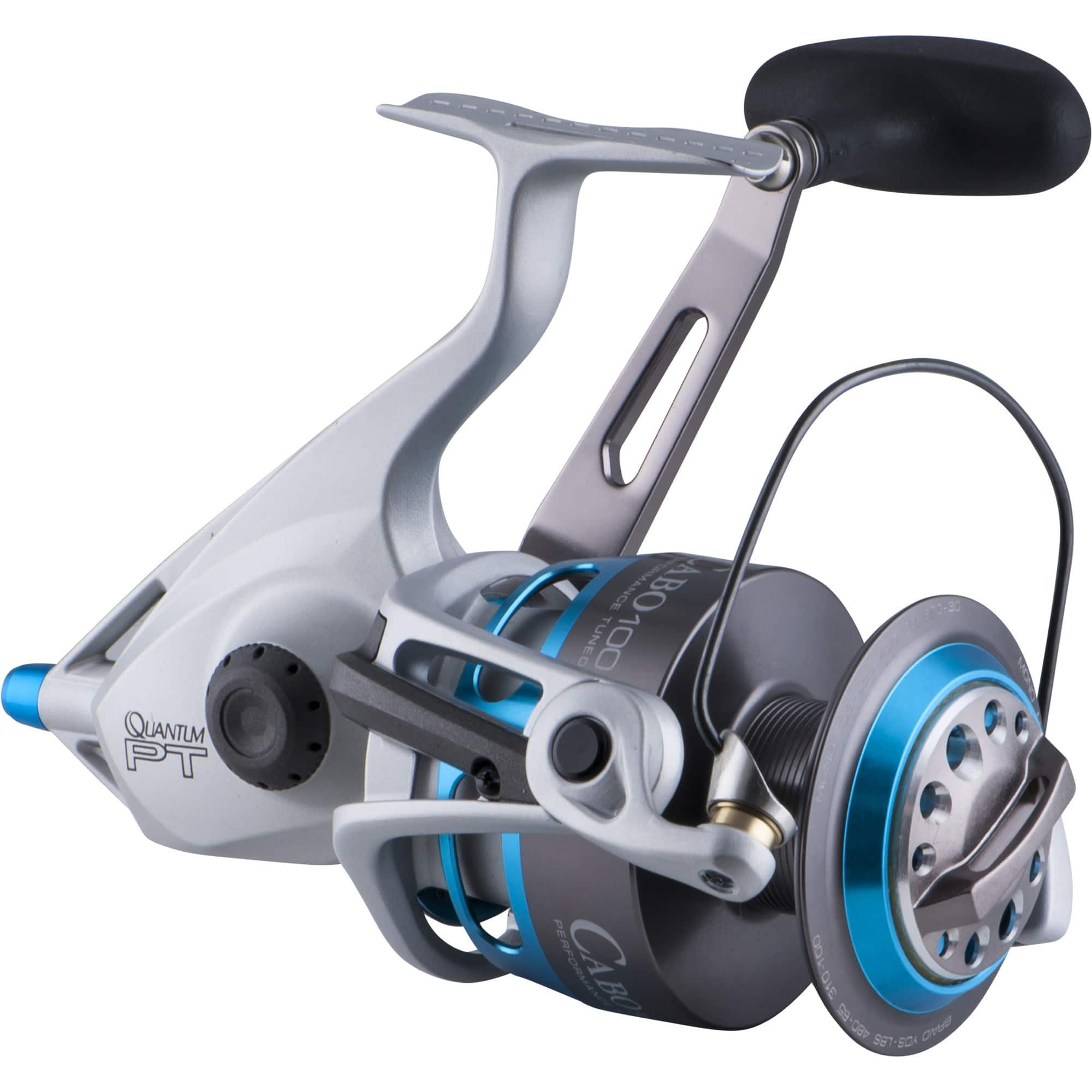 Quantum Cabo 40/50/60/80 PTSE Spinning Reels $139.99