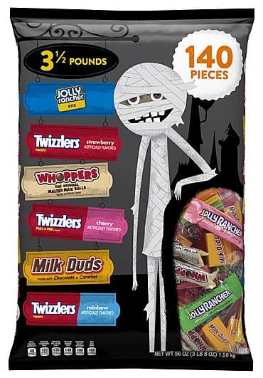 SYW Members: 50% Off Halloween Candy + 100% Back in Points from $3 + Free Store Pickup