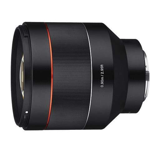 Samyang 85mm F1.4 AF Sony E-Mount $549