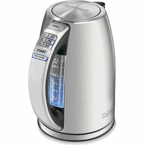 Cuisinart CPK-17 PerfecTemp Cordless Electric Kettle $46.64