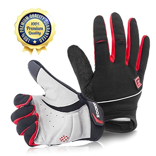 Cycling Gloves Mountain Bike Gloves Road Racing Touch Recognition - Available in Black, Blue or Red $5.39