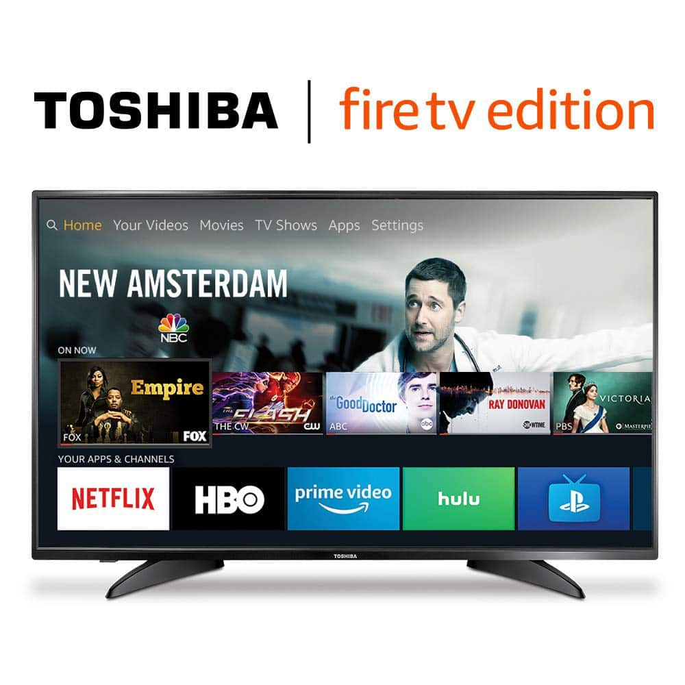 Toshiba 43-inch 4K UHD Smart LED TV - Fire TV Edition | Flash Sale: Amazon @ $189.99 + FS