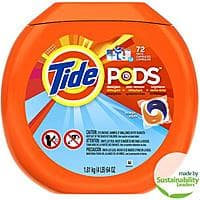 Jet.com Deal: 2X Tide Pods Laundry Detergent (144 Ct - 2 X 72 Ct) for $17.00 or less Jet.com FS (First Time users) ($26.6 Non First timers)