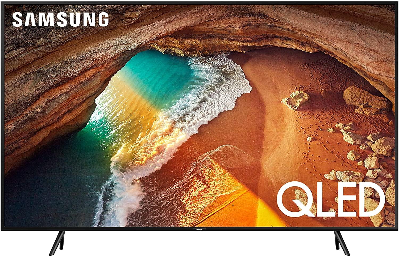 "Samsung QN65Q60RAFXZA Flat 65"" QLED 4K Q60 Series (2019) Ultra HD Smart TV with HDR and Alexa Compatibility $699.99"
