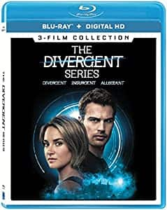 The Divergent Series 3-Film Collection $5.99