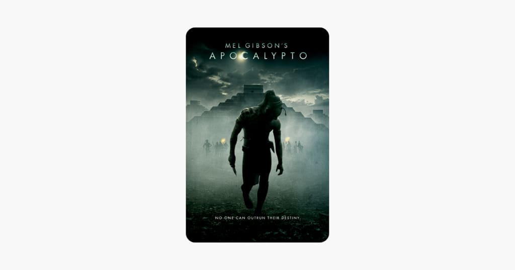 ‎Apocalypto on iTunes $7.99 (arrived on digital this year)