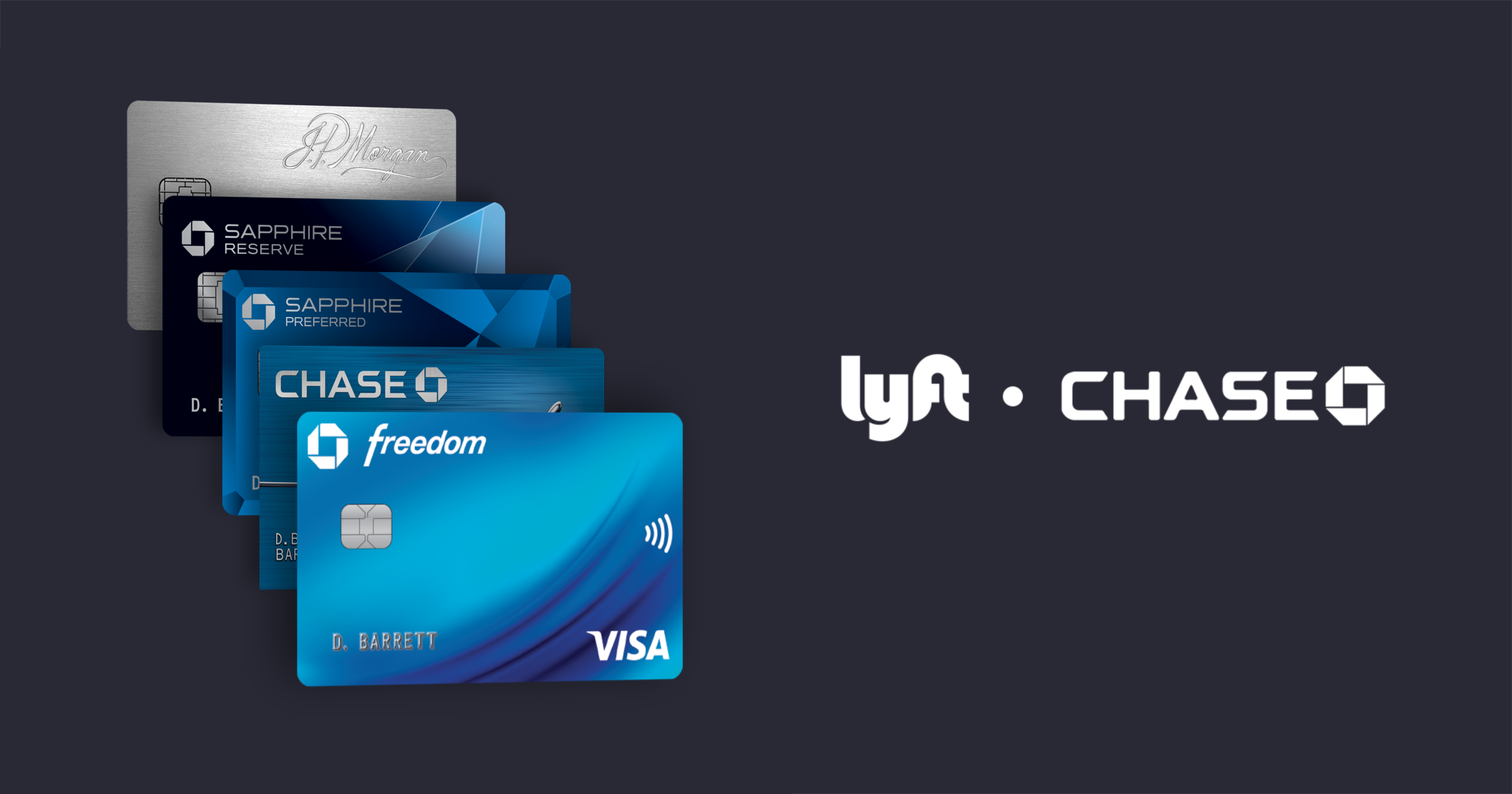 Chase Freedom - 5% Back on Lyft Rides through 03/2022