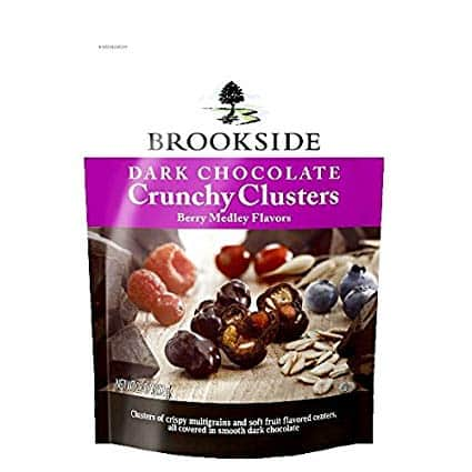 Brookside Dark Chocolate Crunchy Clusters Berry Medley, 23 Ounce - $5.99