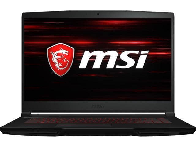 "MSI GF63 THIN 8SC-030 15.6"" IPS Intel Core i5 8th Gen 8300H (2.30 GHz) NVIDIA GeForce GTX 1650 8 GB Memory 256 GB NVMe SSD Windows 10 Home 64-bit Gaming Laptop $740"