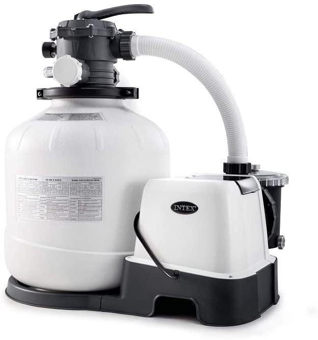 Intex Krystal Clear 2150 GPH Pump & Saltwater Sand Filter Saltwater System - $273 @ Amazon $273.02