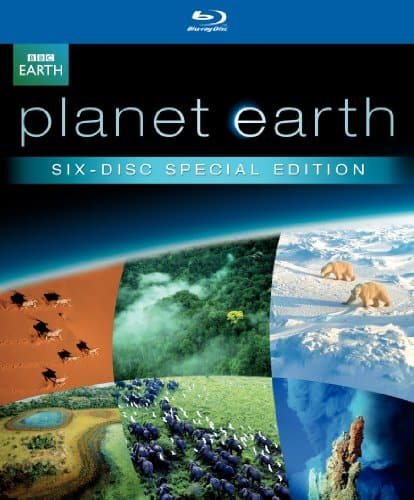 Planet Earth David Attenborough (Six-Disc Special Edition) [Blu-ray] $21.14