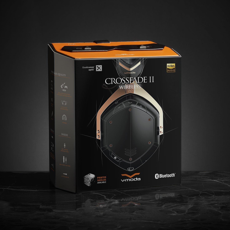 V-MODA Crossfade 2 Wireless Over-Ear Headphone with Qualcomm aptX - Rose Gold [Rose G $201.05