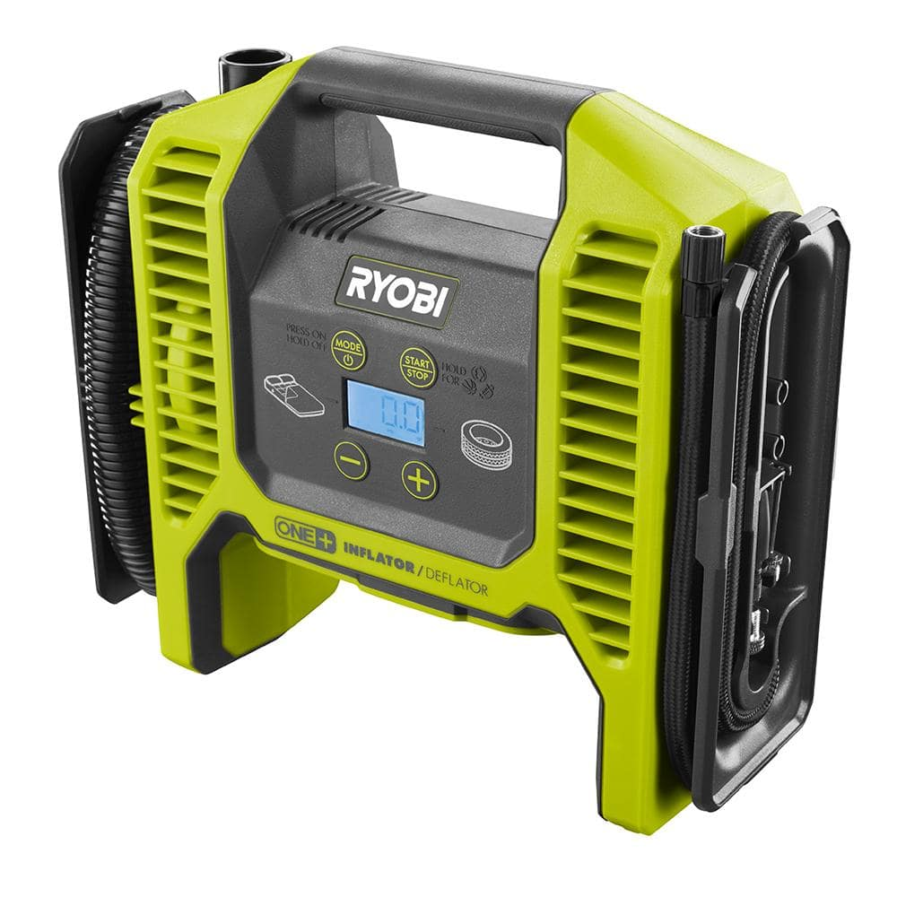 Ryobi ONE+ P747 18-Volt Dual Function Inflator/Deflator (Tool Only, Factory Blemished) $29.99 $37