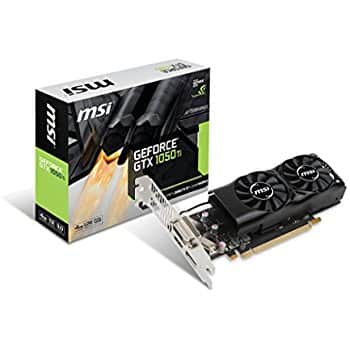 MSI GeForce GTX 1050 Ti DirectX 12 GTX 1050 Ti 4G OC 4GB 128-Bit GDDR5 PCI Express 3.0 x16 HDCP Ready Video Card -   $239.99