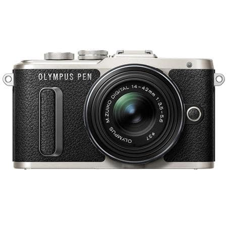 Olympus PEN E-PL8 Mirrorless with 14-42mm II R Lens, Black V205081BU000 $279.99