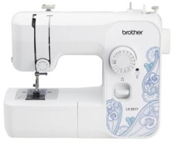 Brother LX3817 17-Stitch Full-size Sewing Machine - $44.99+Tax and Free Shipping