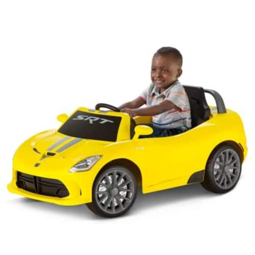 6V Dodge Viper Ride-On, Multiple Colors $84.75