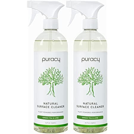 Amazon Puracy All Purpose Cleaner, Streak-Free, Food Safe Natural Household Multi-Surface Spray, 25 Ounce (2-Pack) $6.80 S&S