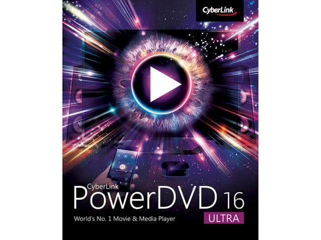 Newegg CyberLink PowerDVD 16 Ultra $30 + Free Premier Shipping