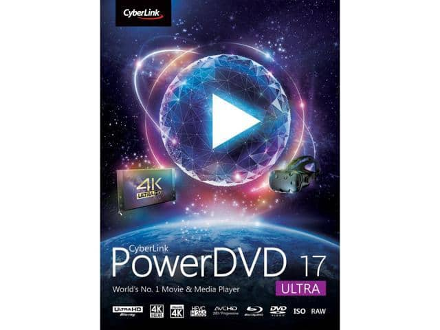 CyberLink PowerDVD 17 Ultra $30 Shipped @ Newegg