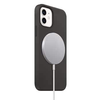 Apple iPhone 12 Mini Black Silicone Case and MagSafe Phone Charger - $39.97 at Costco