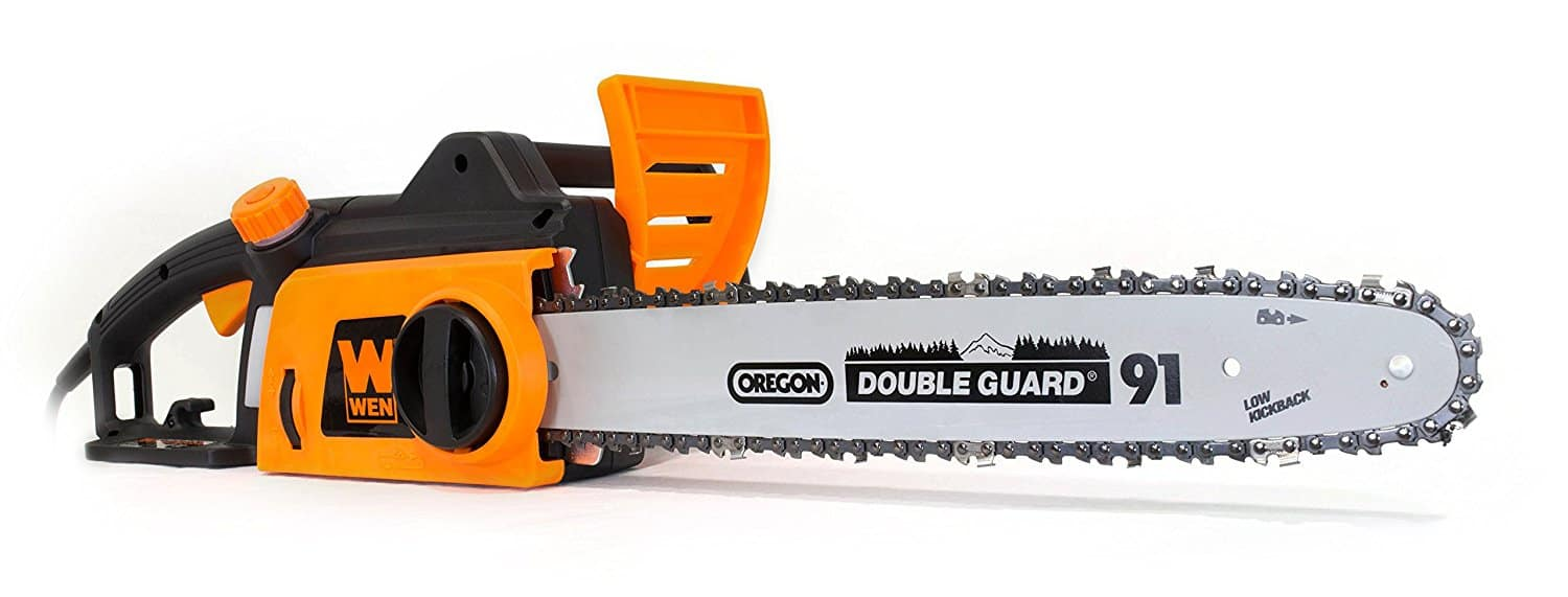 12amp corded WEN 4017 Electric Chainsaw, $48 (2prong)