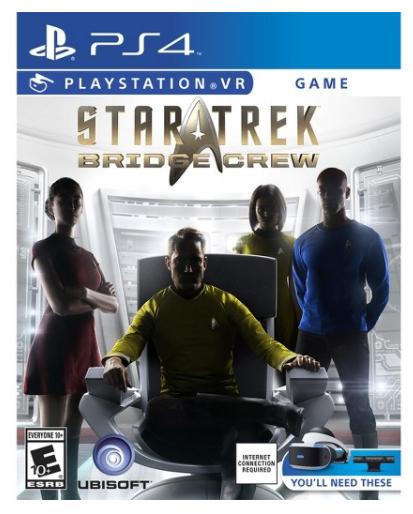 Star Trek: Bridge Crew Playstation 4  $14.98  YMMV