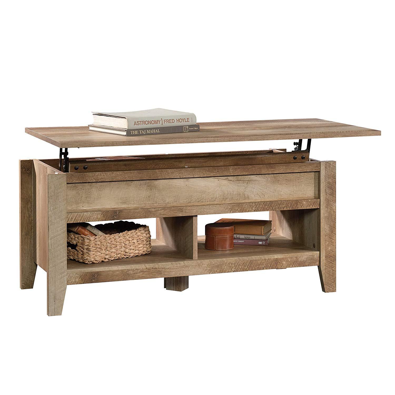 Sauder Lift Top Coffee Table Furniture Craftsman Oak 99 30