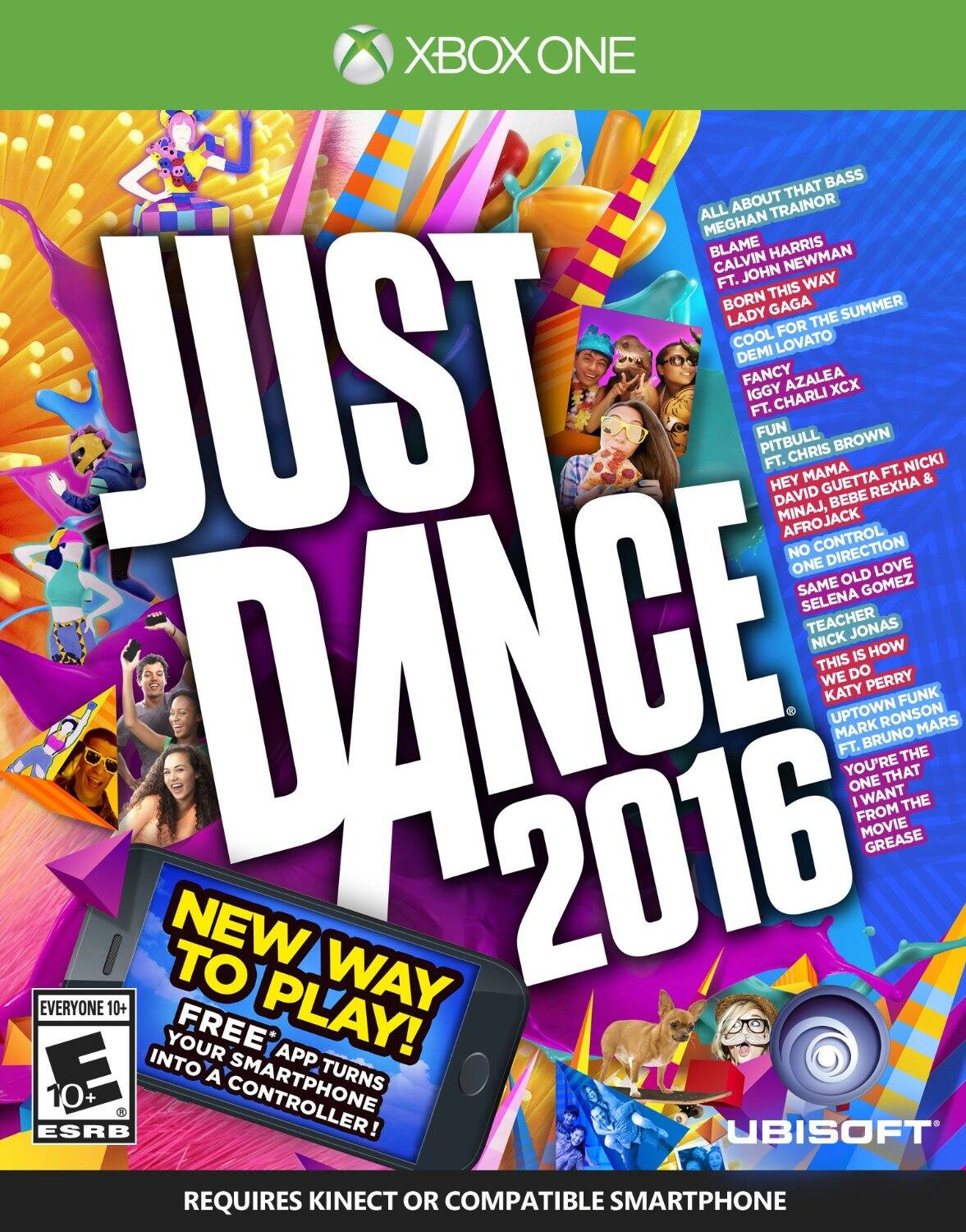 Just Dance 2016 - XBox One platform $14 at Amazon (free shipping with Prime)
