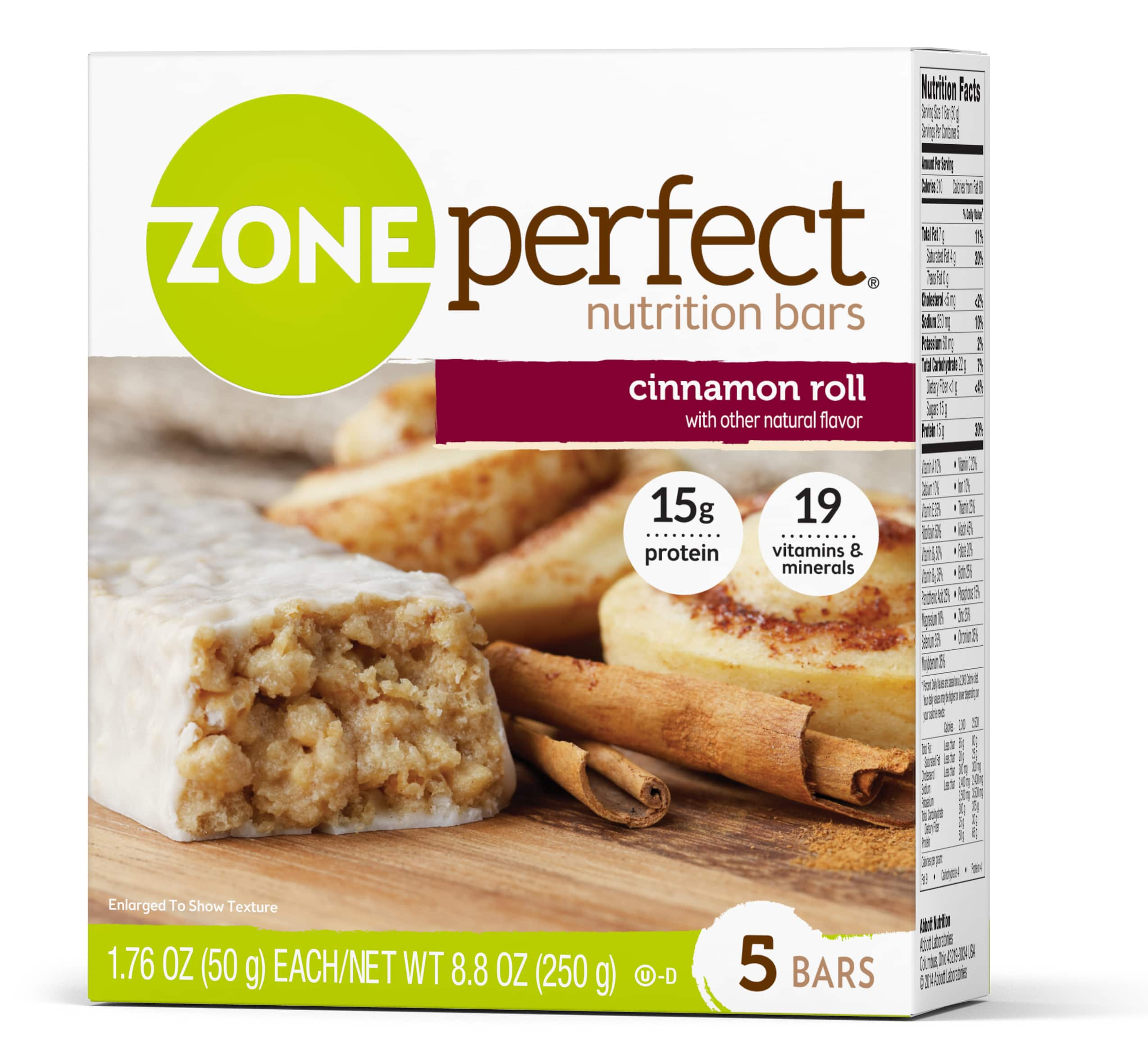 30-Count 1.76-Oz ZonePerfect Protein Bars (Cinnamon Roll) $17.36 or $15.53 w/ S&S + Free Shipping w/Prime or $25+ orders