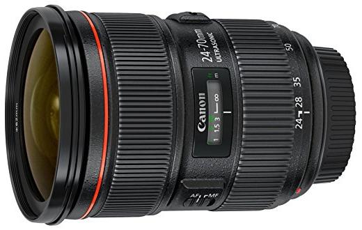 Canon EF 24-70mm f/2.8L II USM Standard Zoom Lens $1699