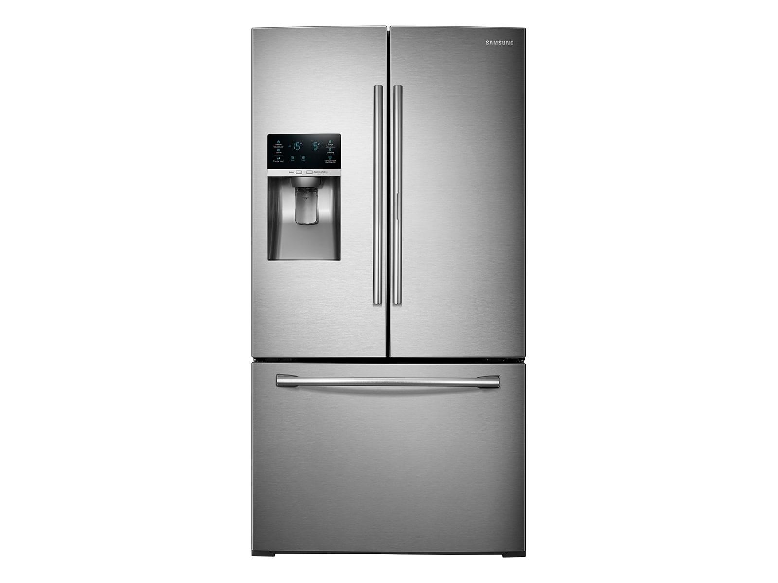 Samsung 28 cu. ft. 3-Door French Door Food ShowCase Refrigerator $1600