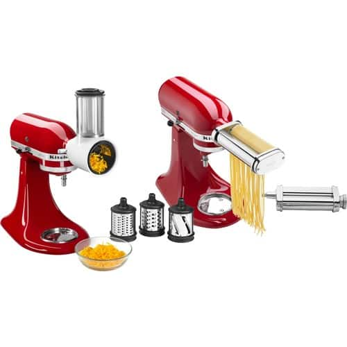 KitchenAid Pasta Cutter & Fresh Prep Attachment Bundle $100