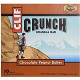 10-Count Clif Crunch Granola Bars (Peanut Butter) $3.95 or less with S&S
