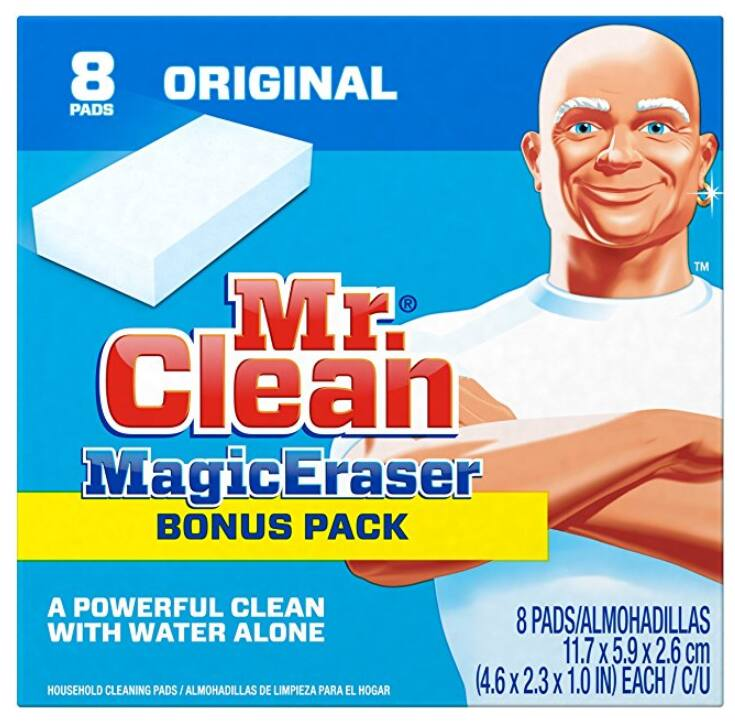 Mr. Clean Magic Eraser Cleaning Pads, 8-Count Box - Amazon - Add-on item $5.34
