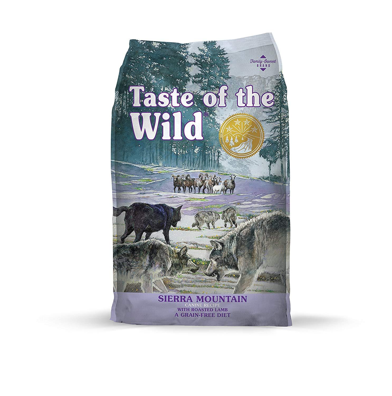 Taste Of The Wild Grain Free Premium Dry Dog Food - 30 pounds - Amazon S&S - $27.49
