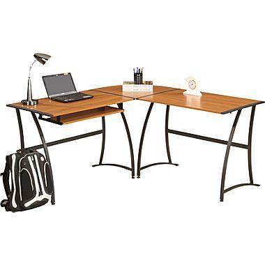 Ergocraft Ashton L-Shaped Desk Staples $48 w/ 20% off (chance for more savings)