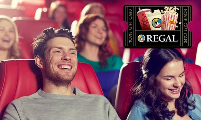 Groupon Deal (Invitation Only):  Regal Cinema $20 Gift card for $10
