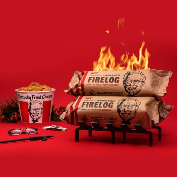 KFC 11 herbs and Spices Fire Log in stock at Walmart -15.88 $15.88