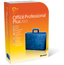 Microsoft Office 2010 Professional Plus - $9.95 for qualified emails