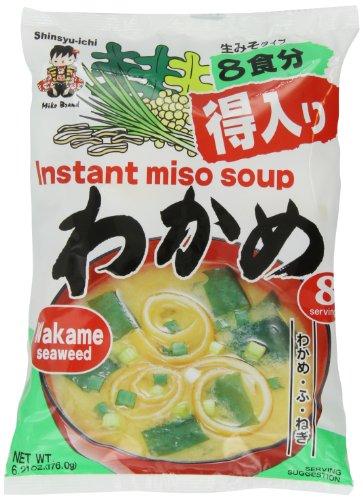 Miyasaka Instant Miso Soup (Seaweed) - 6.21oz $3.41(5%&s) $3.05(15%s&s)