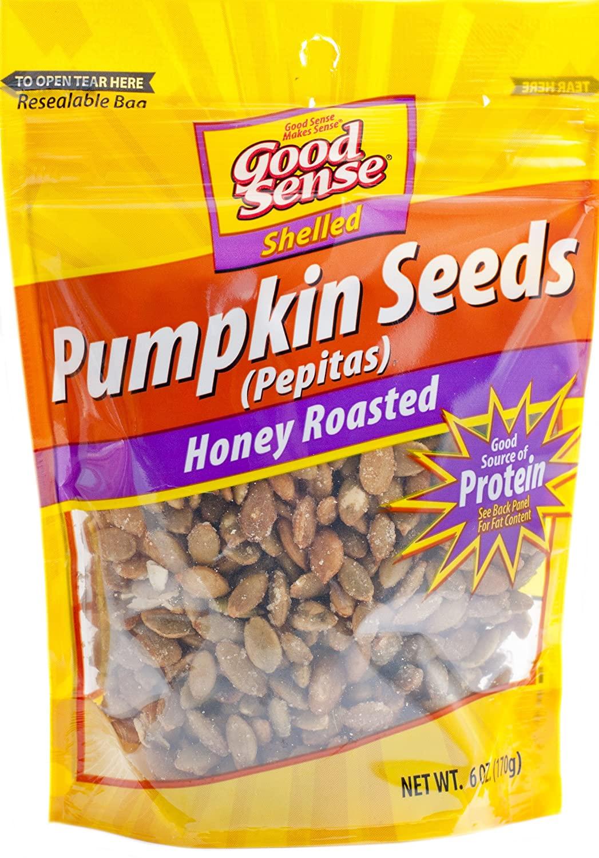 Good Sense Honey Roasted Pepitas Pumpkin Seeds, 6 Ounce: 15% s&s $2.31,  5% s&s $2.58