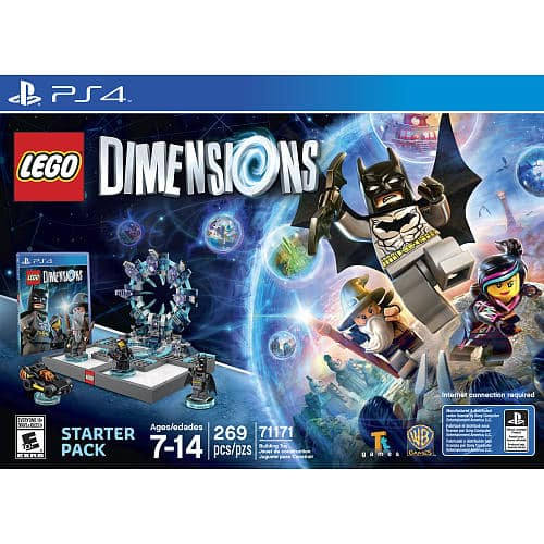 Lego dimensions starter packs all systems $64.99 w/free shipping live now at TRU