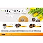 All Keurig Brewed beverages( K-Cup®, Vue®, and Rivo®) 20% off-flash sale