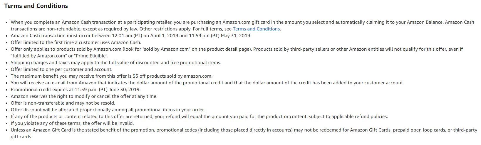 New Amazon Cash Users: Add $20 & Get a $5 Bonus
