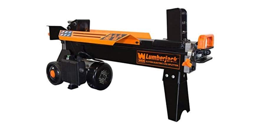 WEN 6.5-Ton Electric Log Splitter with Stand $220