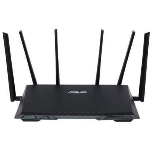 ASUS RT-AC3200 Tri-Band 3x3 3167 Mbps Gigabit Gaming Router x 4 ports (Refurbished) $149 $149.99