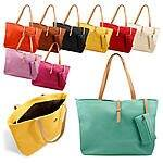 Womens Faux Leather Fashion Messenger Handbag Lady Shoulder Bag Totes Purse - $6 + free shipping