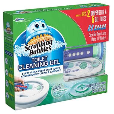 Sam's Club: Scrubbing Bubbles Toilet Gel, 5 TUBES - $7.23 FS